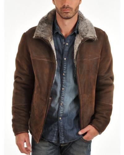 La canadienne veste cuir homme