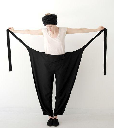 MONOM YUTA WRAP PANTS on | Nähen, Mode für Frauen und Nähideen