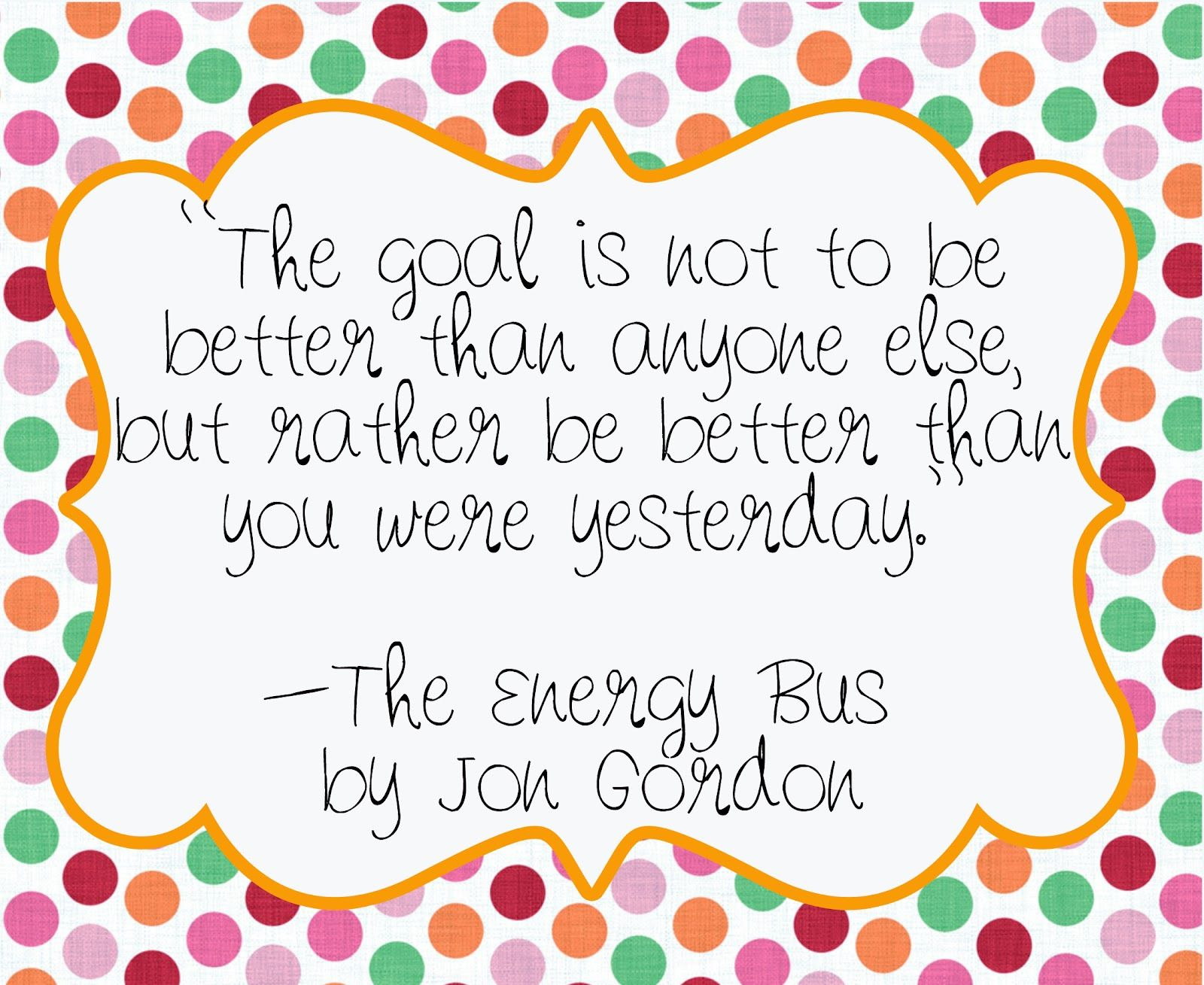 The Energy Bus Quotes Entrancing Innovatemotivateeducate. The Energy Bus  Energy Bus
