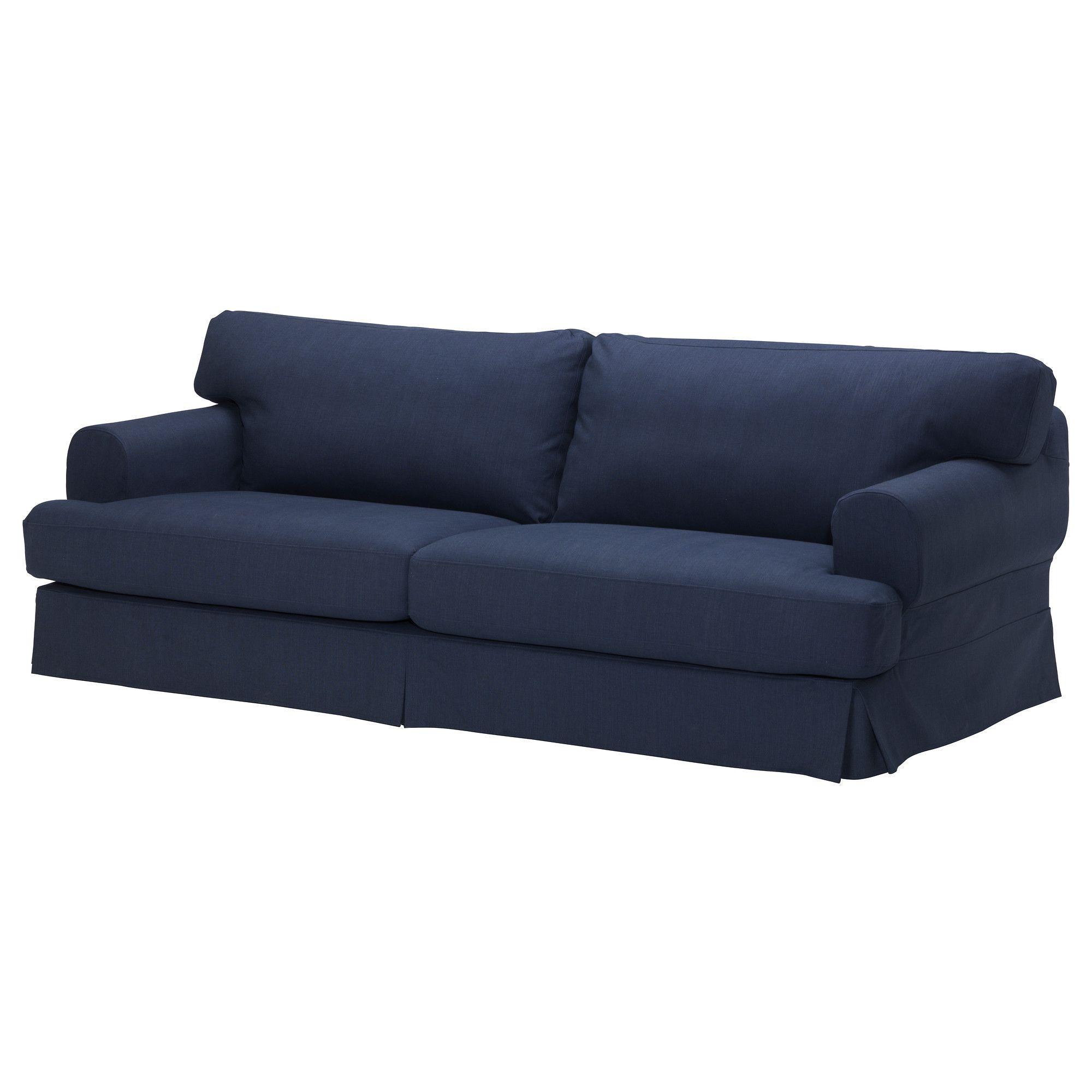 Hov S Sofa  K Llvik Dark Blue  Ikea