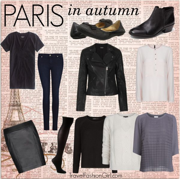 Women's Packing List for Europe: What to Wear in Paris FRANCE
