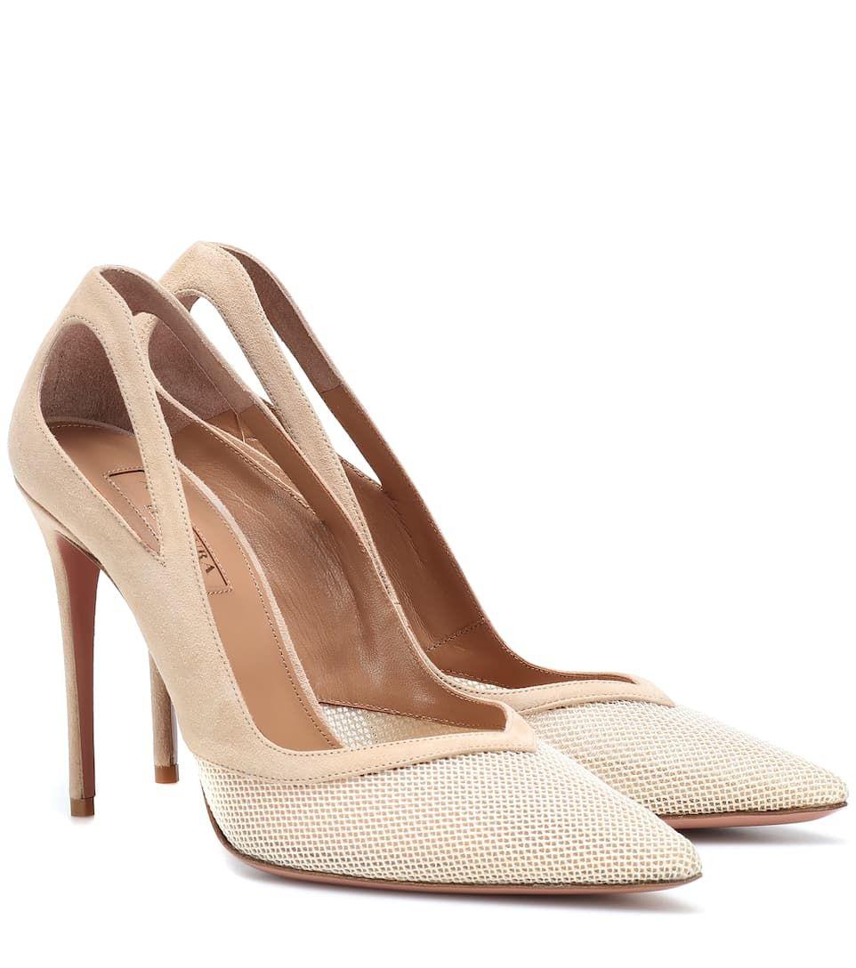 ebd753a387 Shiva 105 leather pumps nude beige cream #leather, #Shiva, #pumps ...