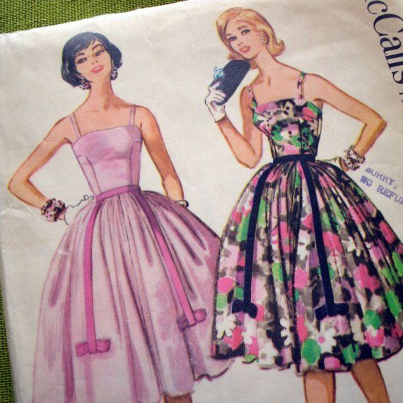 1960 Vintage Sewing Pattern McCalls 5311 by SelvedgeShop on Etsy ...
