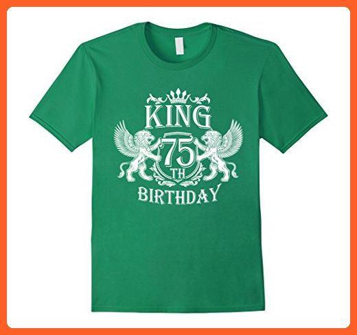 Mens Funny Tshirt For Men Dad 75 Year Old Birthday Gifts Large Kelly Green