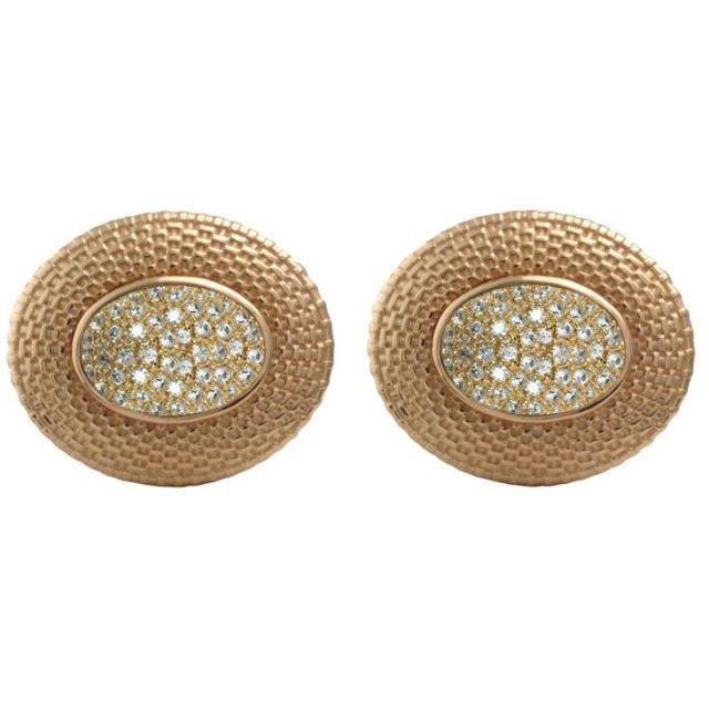 14k Gold Nantucket Basket Top Diamond Earrings 2665 Nantucketbasket Jewelry Diamonds Oakandivory