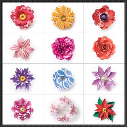 papercraft flowers