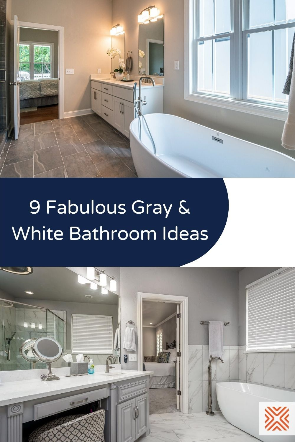 There are tons of great gray and white bathroom decor ideas that you can find online, and we just so happen to have listed the best for you in this article! So what are you waiting for? Click here and discover these dazzling bathroom design ideas.