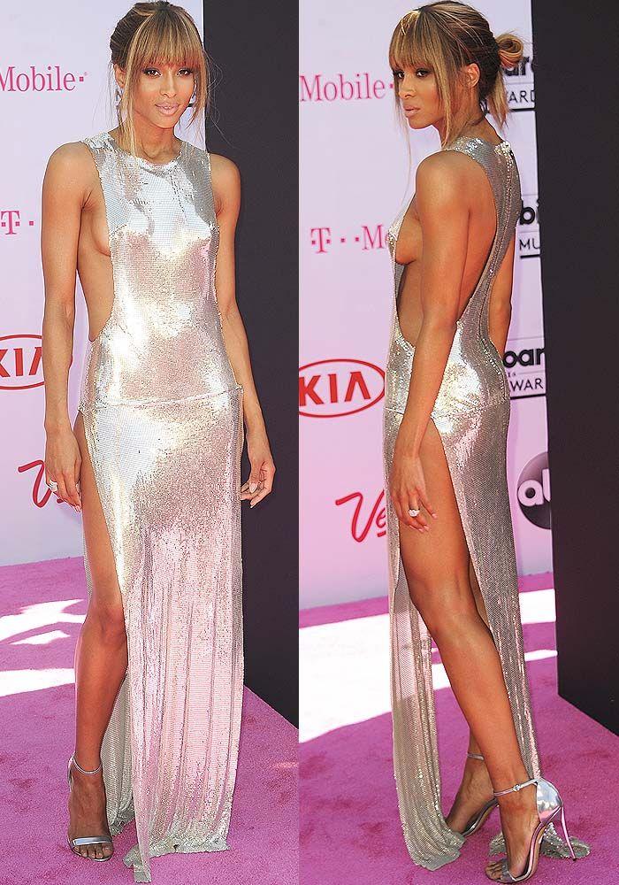Ciara Leaves Price Tag on Casadei 'Blade' Sandals at BBMAs ...