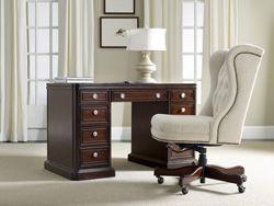 Home Furniture | Home Office Furniture | Kneehole Desk - By Hooker Furniture