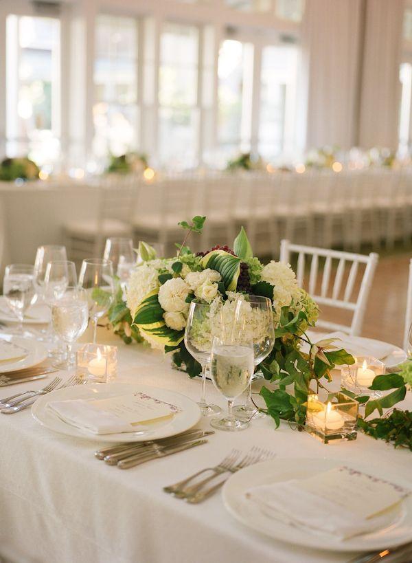 Green floral wedding table centerpieces photo by meg smith green floral wedding table centerpieces photo by meg smith photography junglespirit Gallery