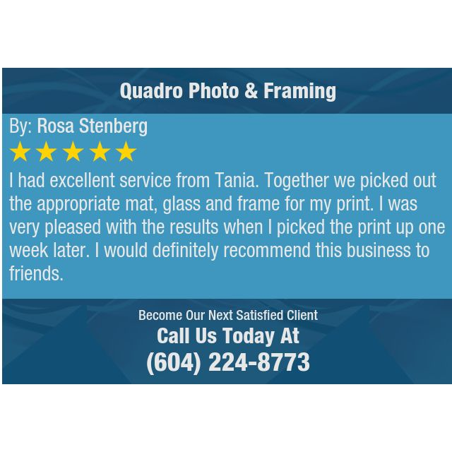 I Had Excellent Service From Tania Together We Picked Out The
