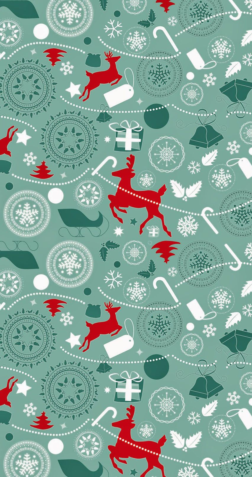 Reindeer pattern. Tap image for more iPhone 6 Christmas