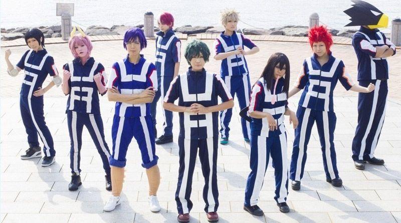 My Hero Academia Boku no Hero Academia Kohei Horikoshi gym Cosplay Costume S-3XL