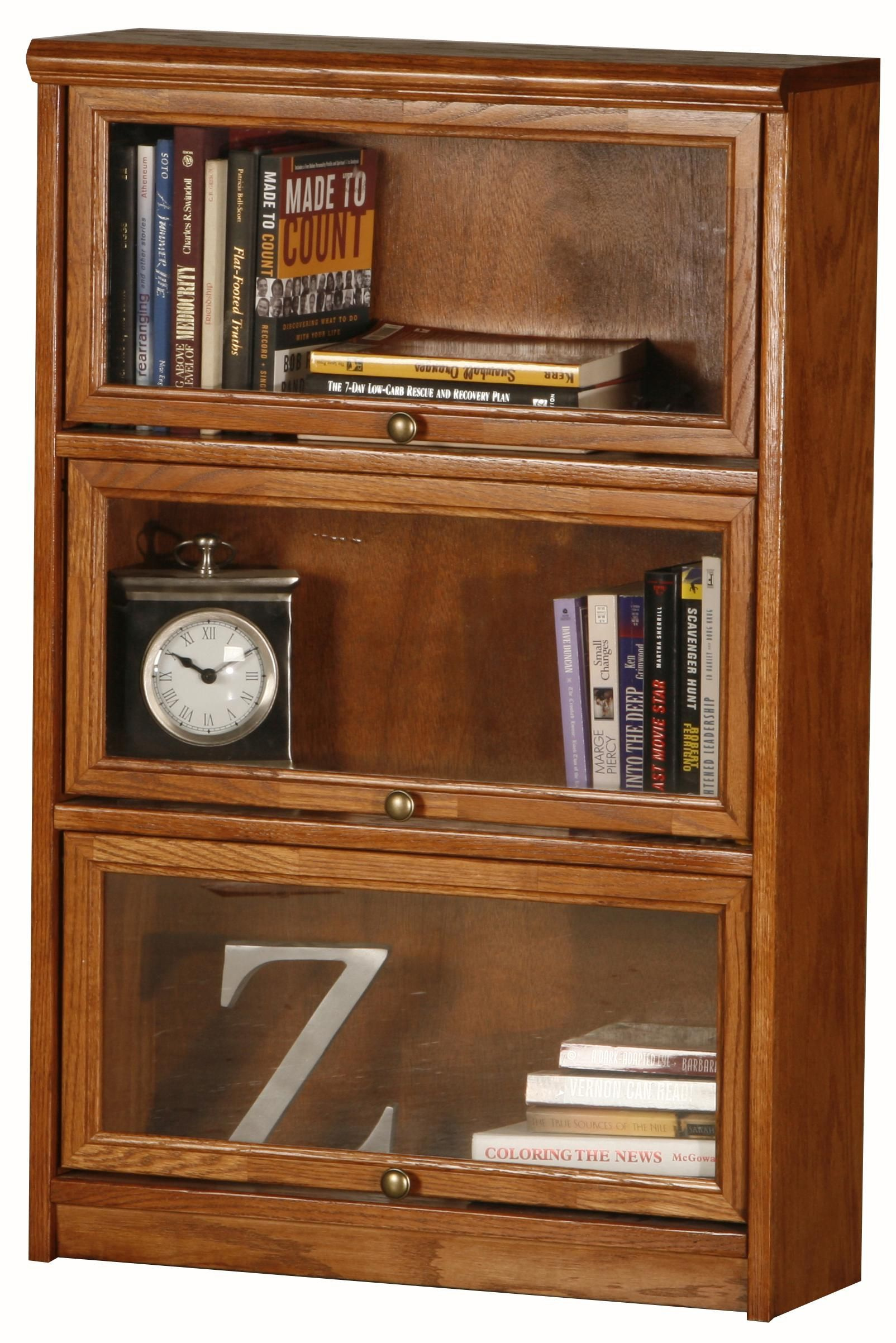 Promo 3 Door Media Bookcase By Eagle Industries