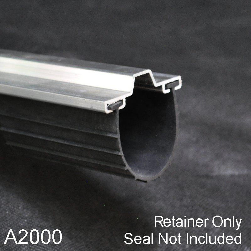 Garage Door Bottom Seal Aluminum Retainers Get A Tight Seal On Your Door By Replacing The Retainer An Garage Door Design Garage Doors Garage Door Bottom Seal
