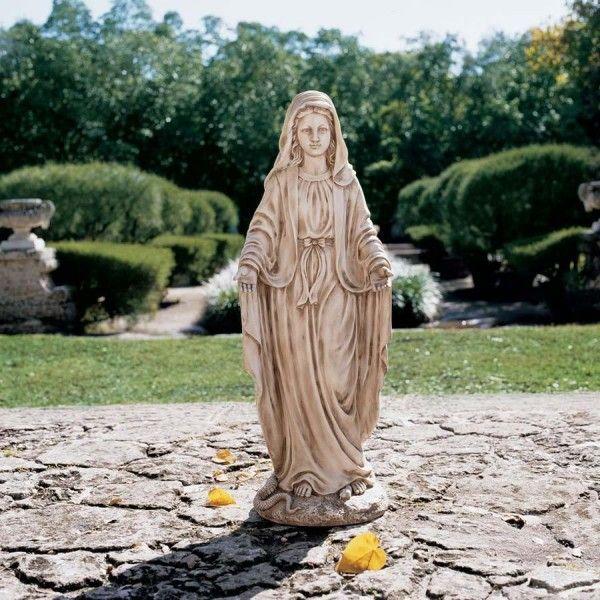 Madonna Garden Statue   Stone