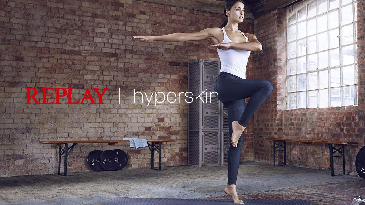 Replay Hyperskin: A new Dimension in Denim Experience  Work out in your #hyperskin jeans Replay powered by ISKO.