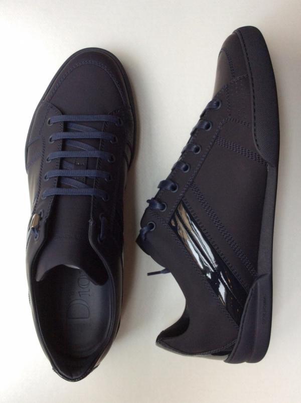 e9f4d565dbd Sneaker Dior Homme Ref.Sneaker B18 Matt Calfskin 520 Dark Blue Réf.  DIO-SPO-H-96106