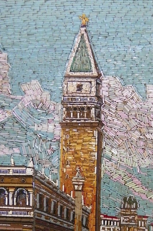 italian glass mosaic picture