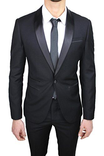 Vestito elegante uomo slim fit