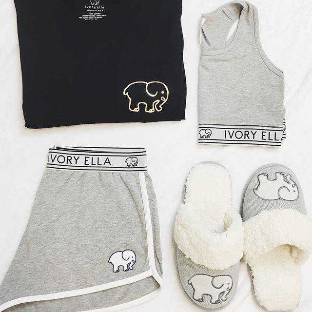 aaa2fdc4b9dddb Ivory Ella Sleepwear