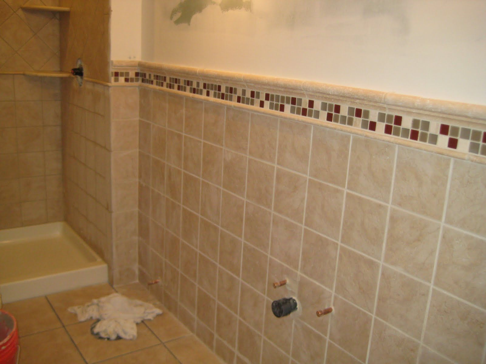 Bathroom Tile Design Layout Bathroom Pinterest
