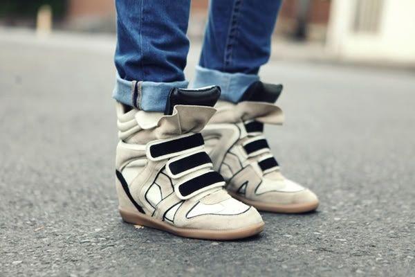 Art sneaker wedge 2012-lookbook