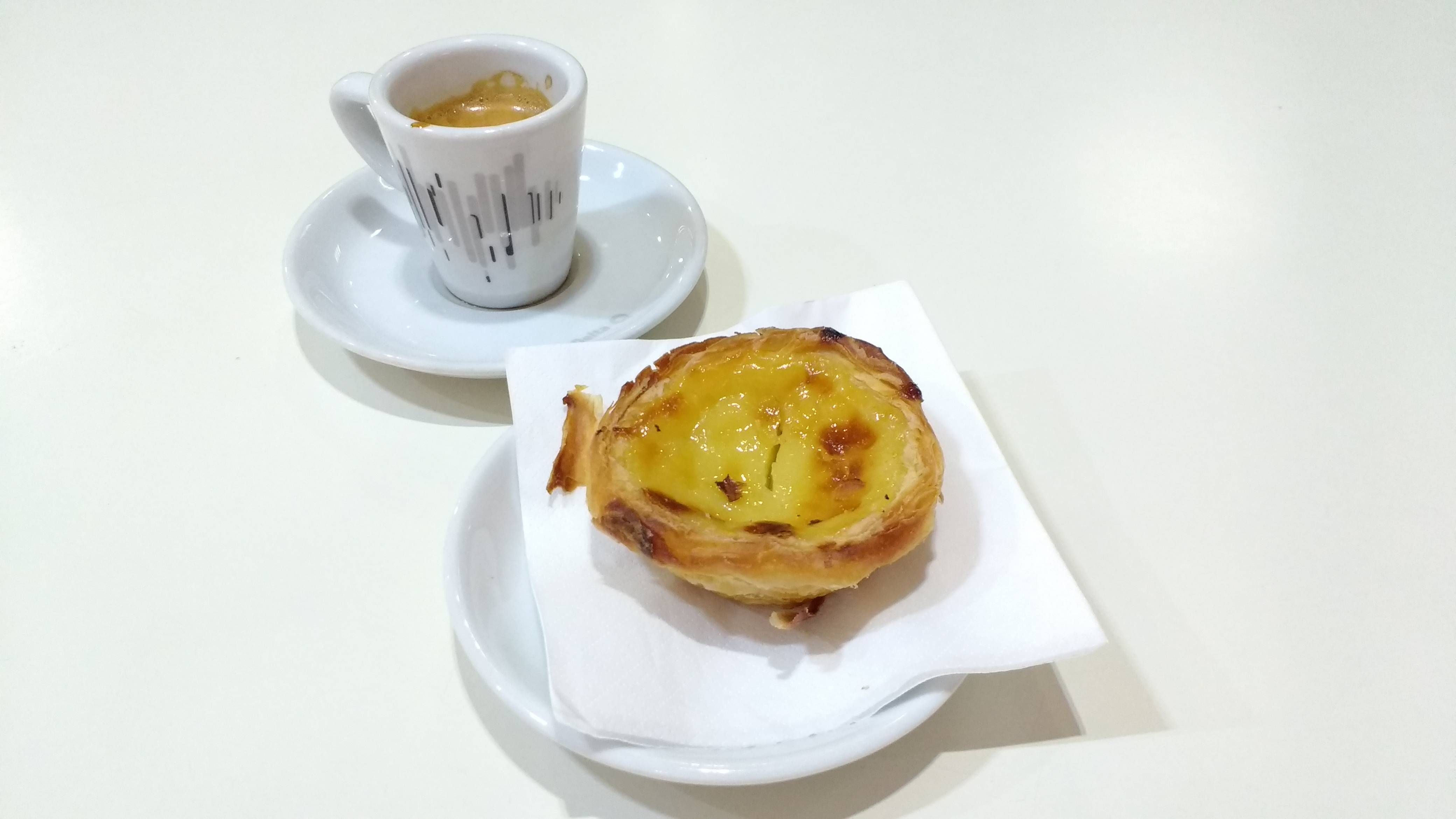 [I ate] Pastel de Nata and Portugese Coffee in Lisbon