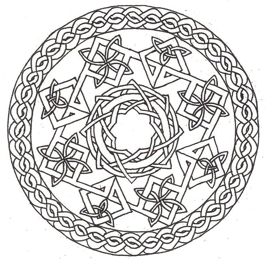 Celtic Coloring Pages Printable Celtic Mandala Coloring Pages Coloring Pages Celtic Design Art Mandala Coloring Pages Cool Coloring Pages