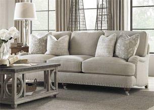 neutral/gray living room