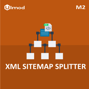 generates and splits your magento2 xml sitemap with number of urls