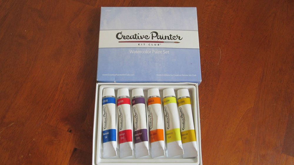 6 Tube Watercolor Paint Set Creative Painter Creativepainter