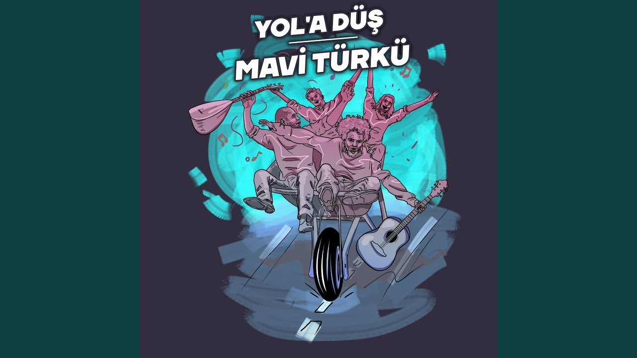 Mavi Turku Youtube Cizim Danca