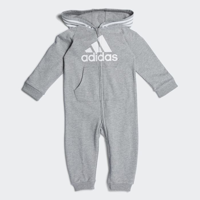 ff7b2182c Coveralls Heather Grey 18MO Kids Adidas Kids, Adidas Women, Baby Boy  Outfits, Toddler