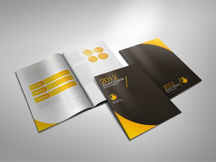 50 Creative Corporate Brochure Design ideas for your Inspiration ...
