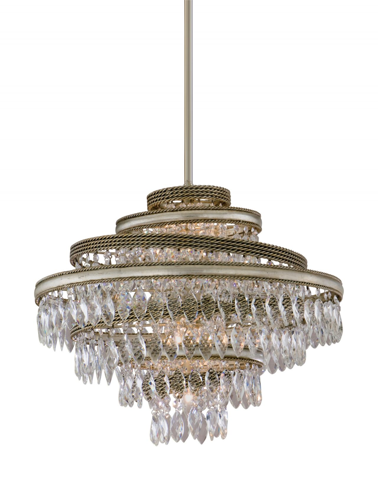 Diva 4 Light Pendant - Steelyard