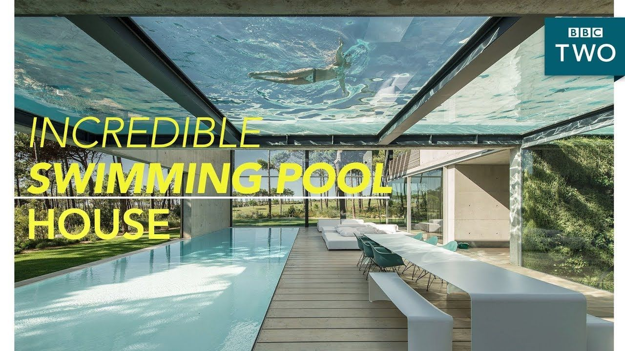 Inside The Luxury Two Swimming Pool House World S Most Extraordinary H Swimming Pool House Swimming Pools Pool House