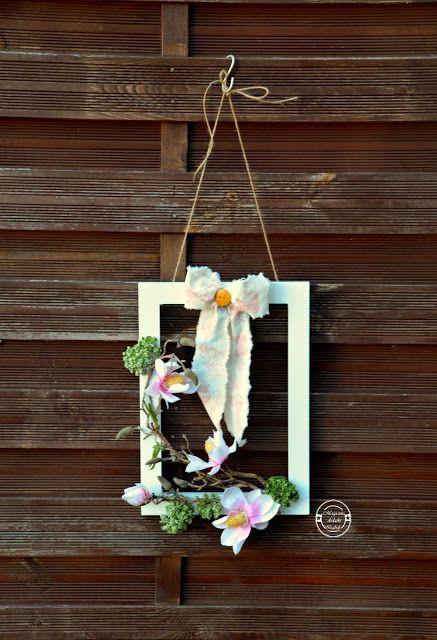 Wiosenna Dekoracja Na Drzwi Wejściowe Wreaths Pinterest