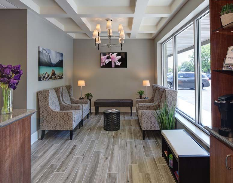design office room. New Millennium Medical - Chiropractic Office Design Room