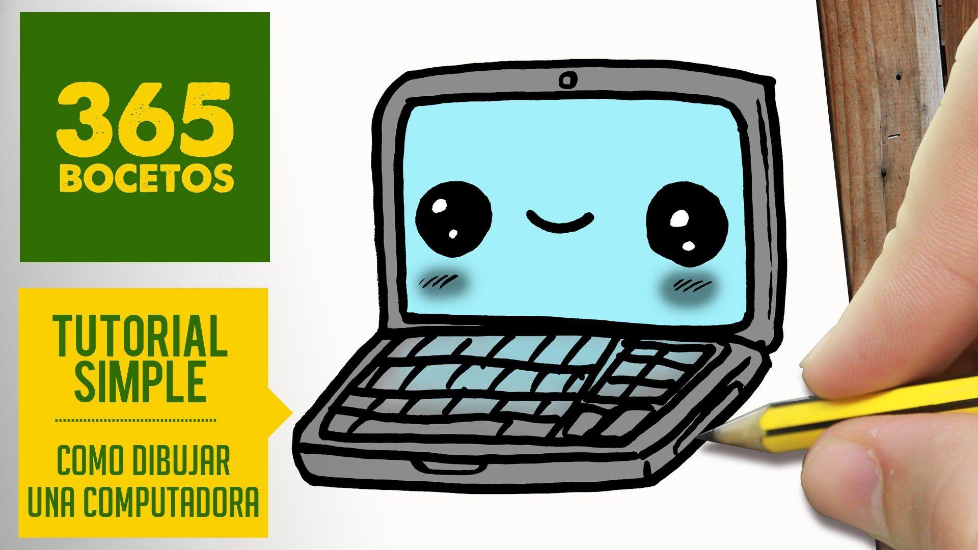 Como Dibujar Una Computadora Kawaii Paso A Paso Dibujos Kawaii Faciles How To Draw A Laptop Dibujos Kawaii Dibujos Kawaii Faciles Dibujos Kawaii 365