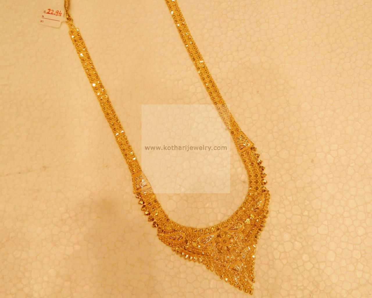 Gold long necklace design with price - Necklaces Harams Gold Jewellery Necklaces Harams Nk22942294 20 At Usd
