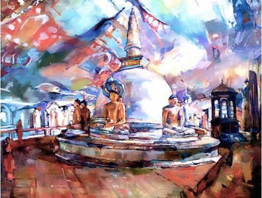 Dambulla Cave Temple Sri Lankan Art Gallery Art Art Gallery