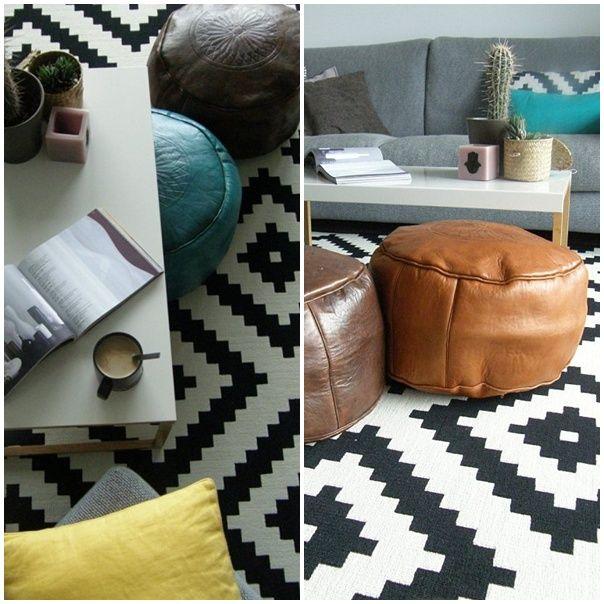 La alfombra ikea de las bloggers lappljung ruta - Alfombras dormitorio ikea ...
