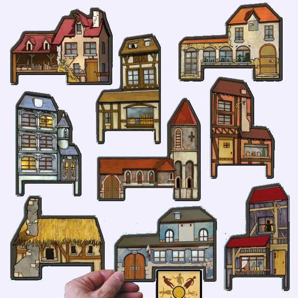 les loups garous de thiercelieux le village jeu de soci t chez jeux de nim loup garou de. Black Bedroom Furniture Sets. Home Design Ideas