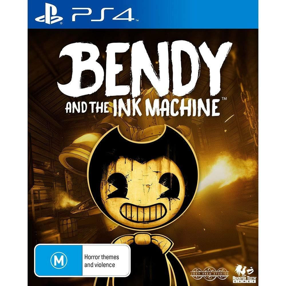 Bendy & The Ink Machine Puzzle Retro Survival Horror Game Sony