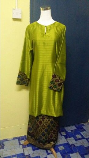 modern dress  songket Sarawak  Pinterest
