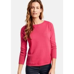 Photo of Pullover mit Struktur-Mix Pink Gerry WeberGerry Weber