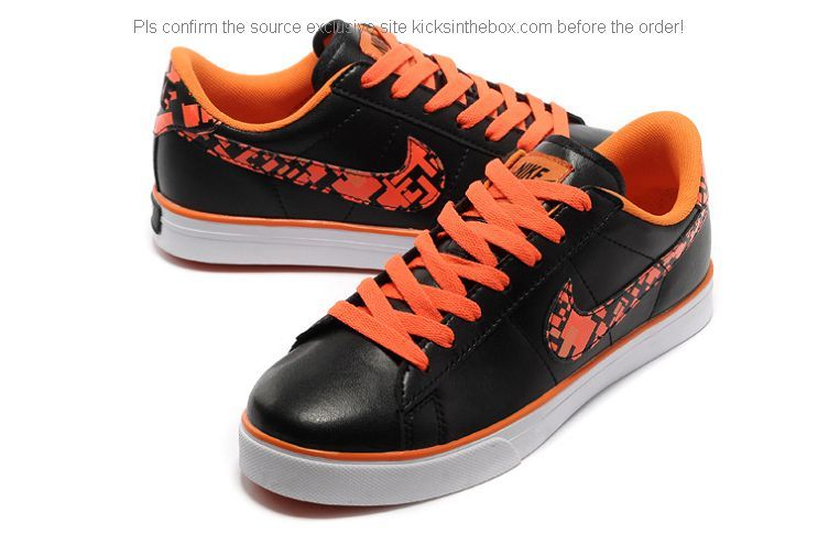 reputable site db61f 68cfb Nike Sweet Classic AP Men Shoes in Black and Orange