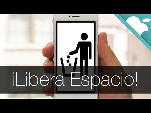 Como liberar Espacio en iPhone, iPod y iPad - YouTube