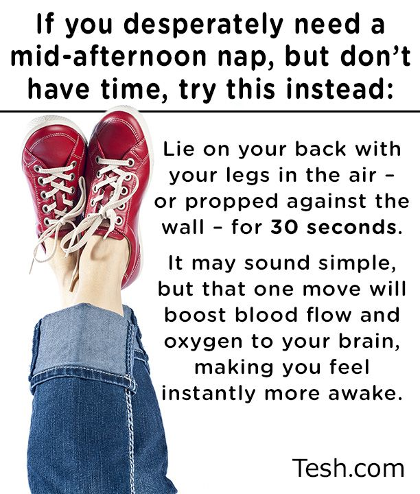 If you desperately need a mid afternoon nap but don t have time